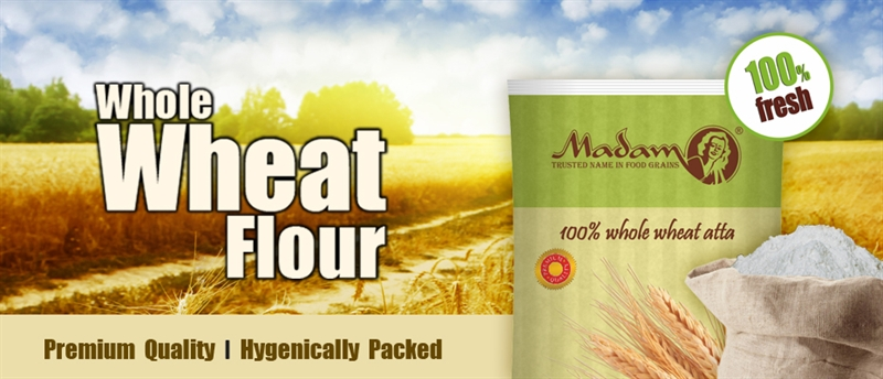 קמח חיטה מלא Whole wheat Flour